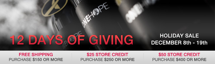 ONEHOPE 12 Days of Giving Holiday Sale